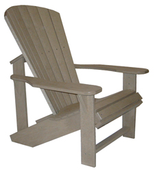 Adirondack Chair, Beige