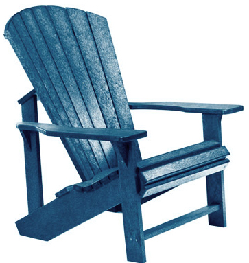 Adirondack Chair, Navy Blue