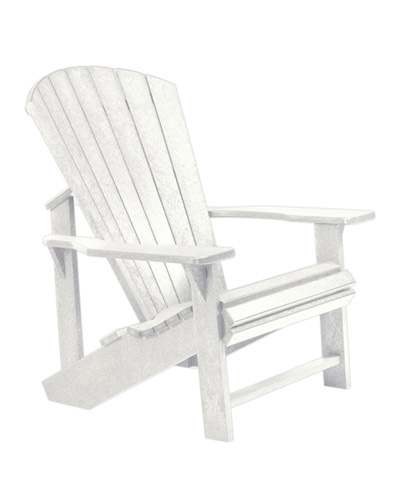 Adirondack Chair, White