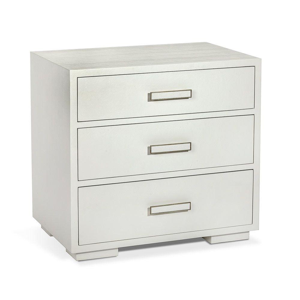Portia 3 Drawer Nightstand