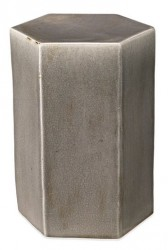 Porto End Table Large, Grey