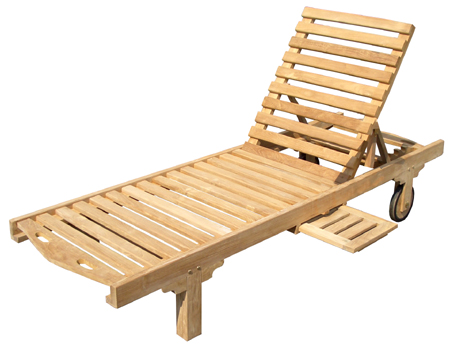 Sun Lounger, No Cushion