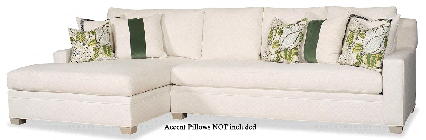 Choices Grand Sectional, LAF, Wide Chaise, Crypton Performance Fabric