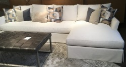Meban Sectional, RAF, Crypton Performance Fabric
